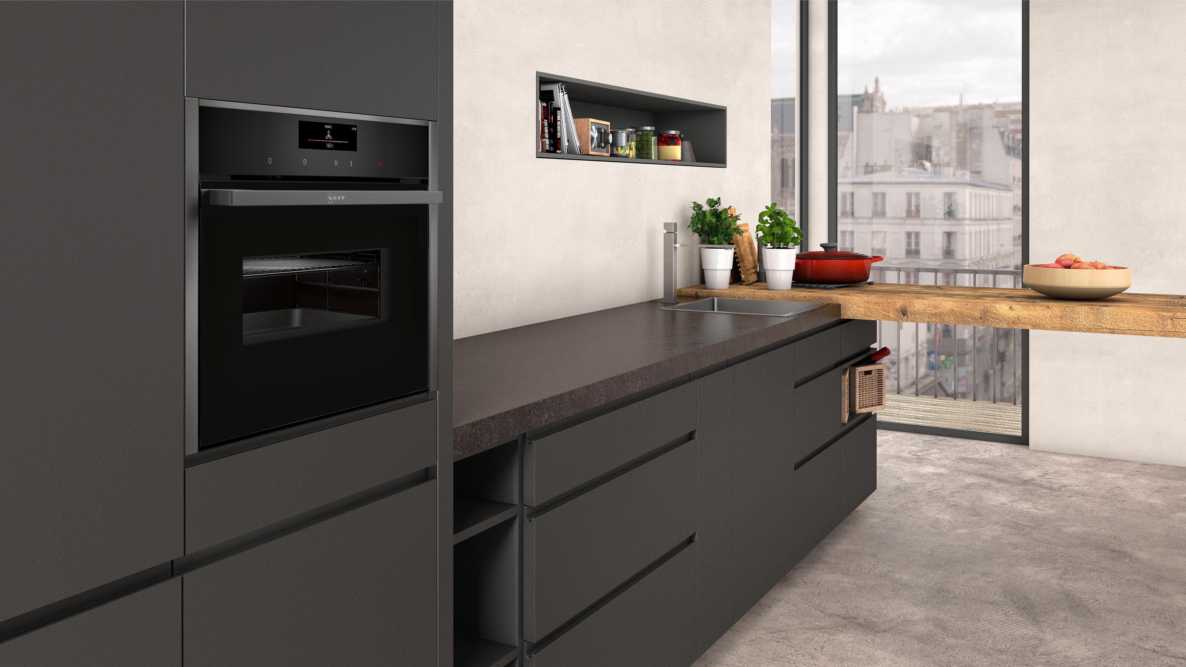 NEFF Compacte oven met magnetron