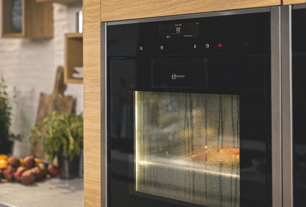 neff ovens sous vide met vacumeerlade product in beeld startpagina voor keuken idee n uw. Black Bedroom Furniture Sets. Home Design Ideas