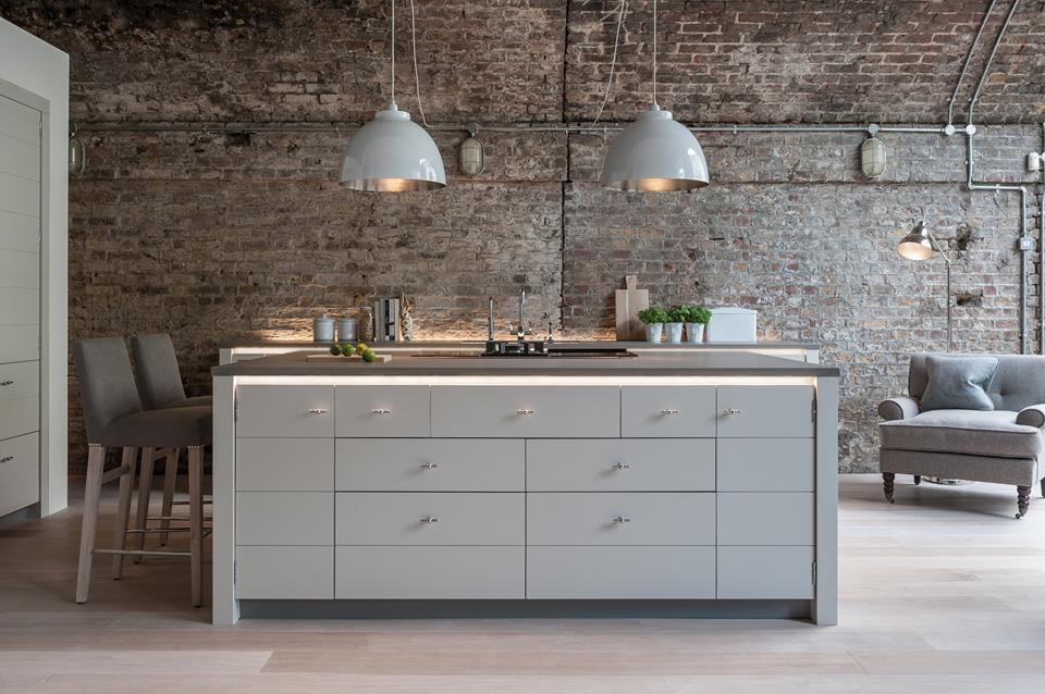 Interior Design Keukens : ook riverdale vintage houten keuken zwart ...