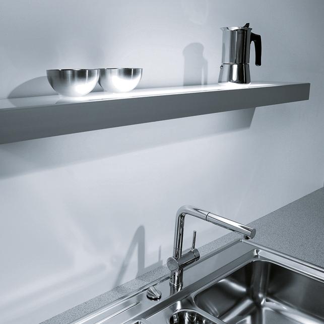 Next125 keuken verlichting product in beeld for Verlichting keuken