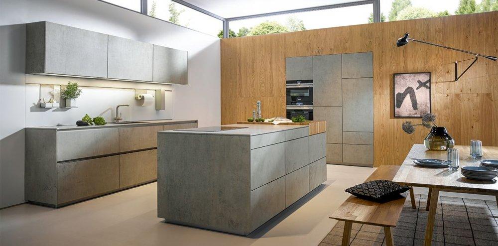 Keuken Met Betonlook : NX 950 betonlook & hout – Product in beeld – Startpagina voor keuken