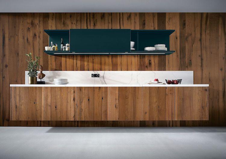 Wandhangend keukenblok