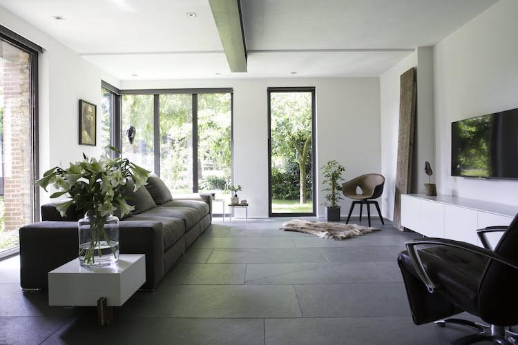 Grijsgroene leisteen tegels | Nibo Stone
