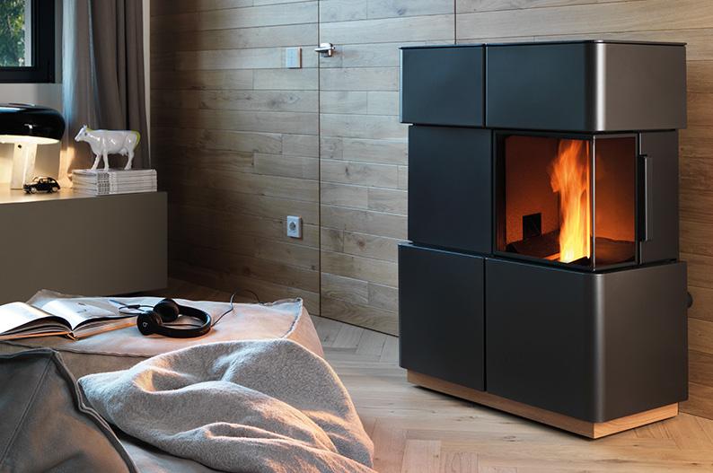 Nordic Fire pelletkachel Natura Wide