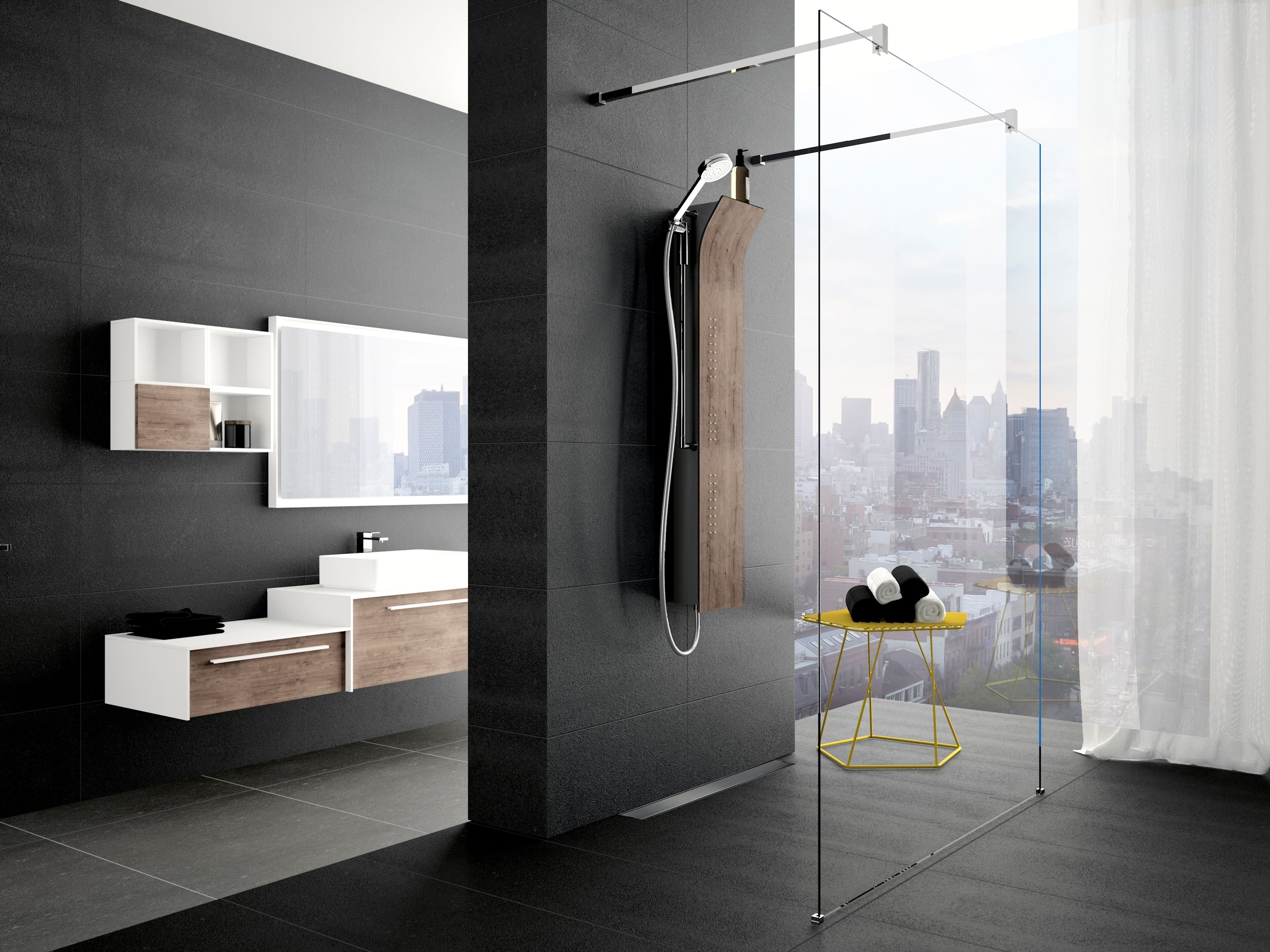 novellini douchepaneel vanity product in beeld startpagina voor badkamer idee n uw. Black Bedroom Furniture Sets. Home Design Ideas