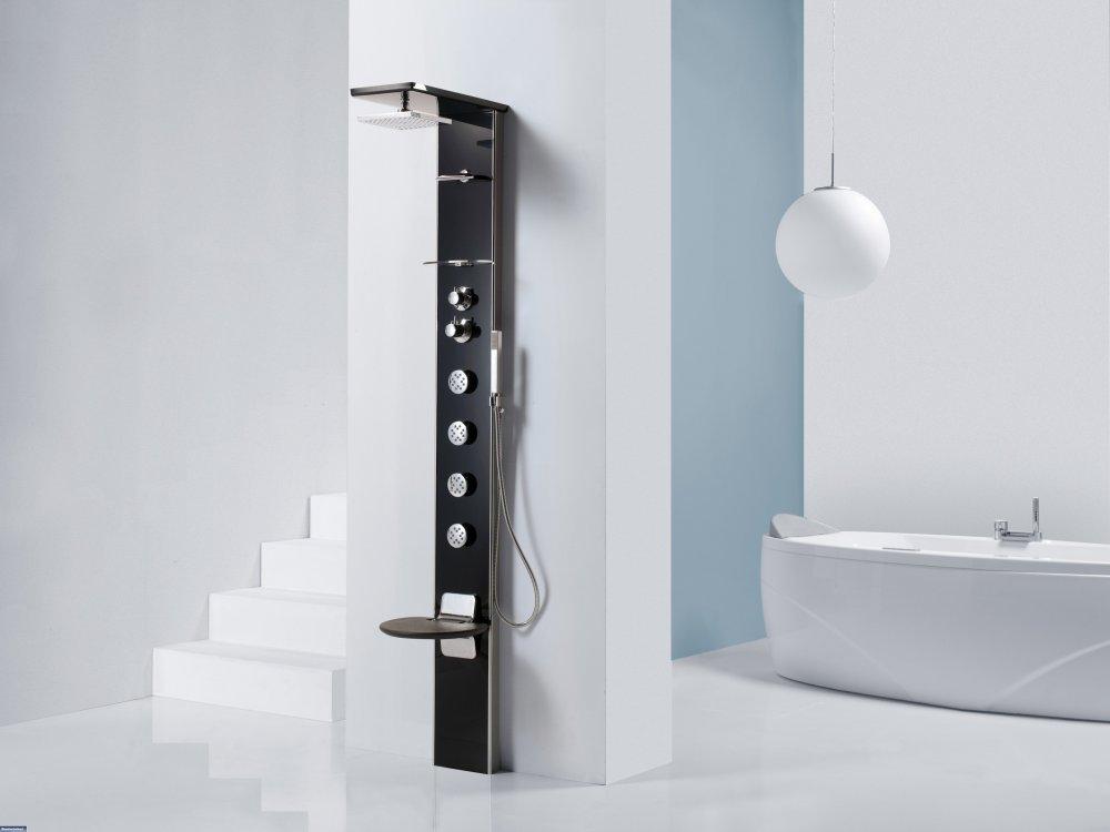 Novellini douchepanelen badkamer ideeën uw badkamer.nl