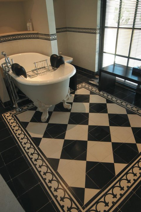 Castelo Portugese tegels Classic lijn zwart wit - Product in beeld ...