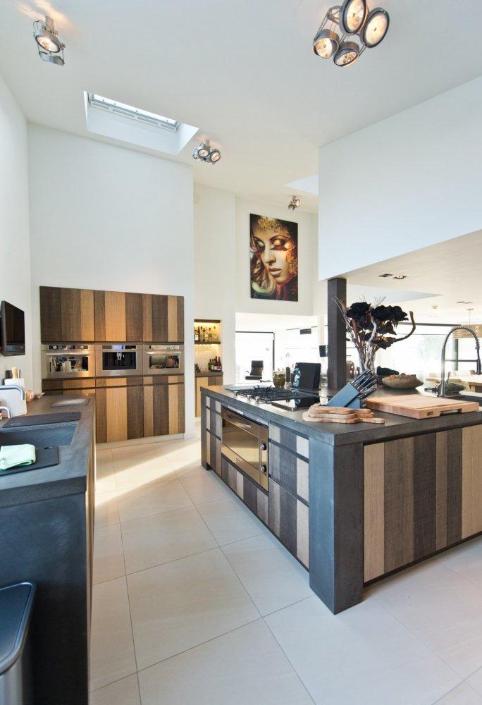 Tieleman keuken (model glasgow, 3 kleuren eiken)   product in ...