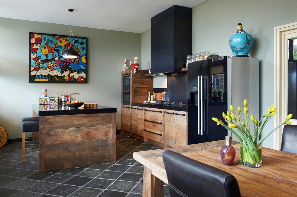 Eikenhouten Vloer In Keuken : Eikenhouten keukens Product in beeld Startpagina voor
