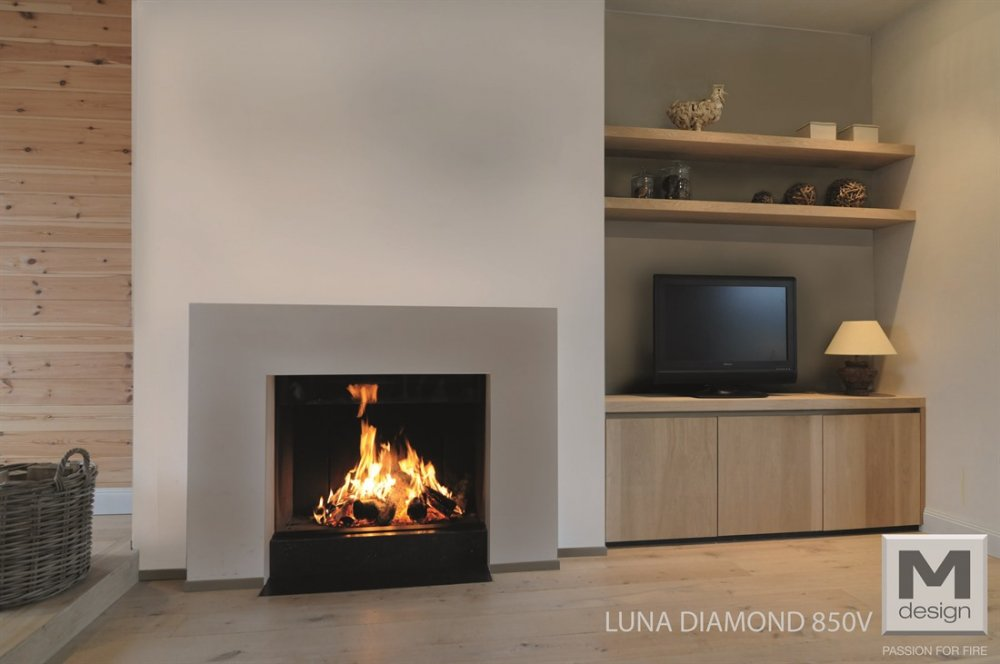 Foyer M Design Luna : M design liftdeurhaard luna diamond verticaal product in