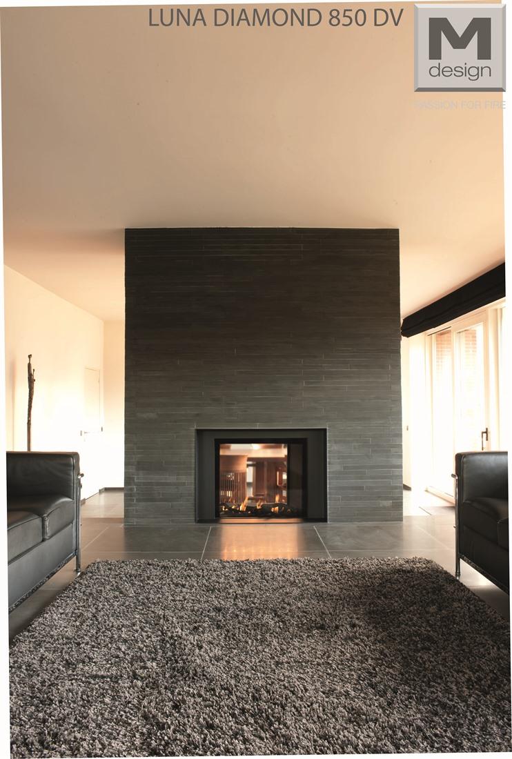 m design gashaard doorkijkhaard luna diamond product in beeld startpagina voor haarden en. Black Bedroom Furniture Sets. Home Design Ideas