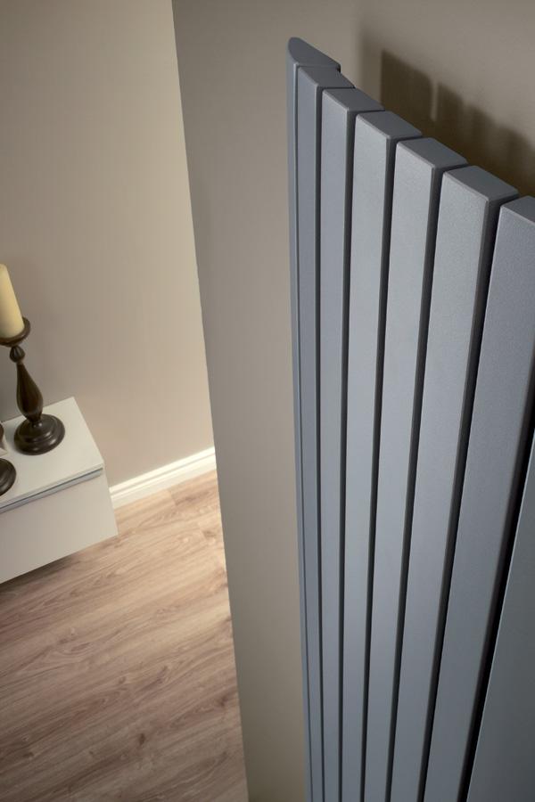 Terra verticale designradiator  Product in beeld  Startpagina voor badkamer # Designradiator Eva_054108