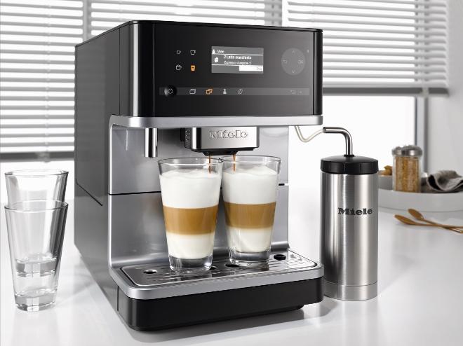 Miele vrijstaande koffie automaten cm6 serie product in for Keukentoestellen bosch