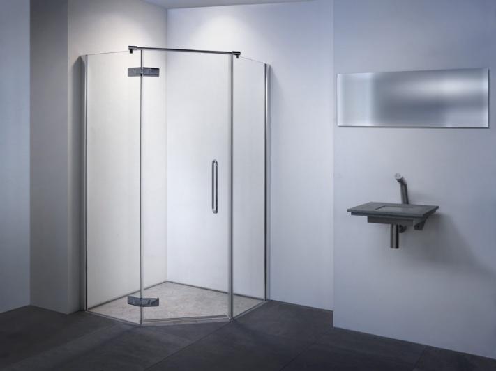 Wanden Voor Douche : Balance douchewand Shower-Line Basic