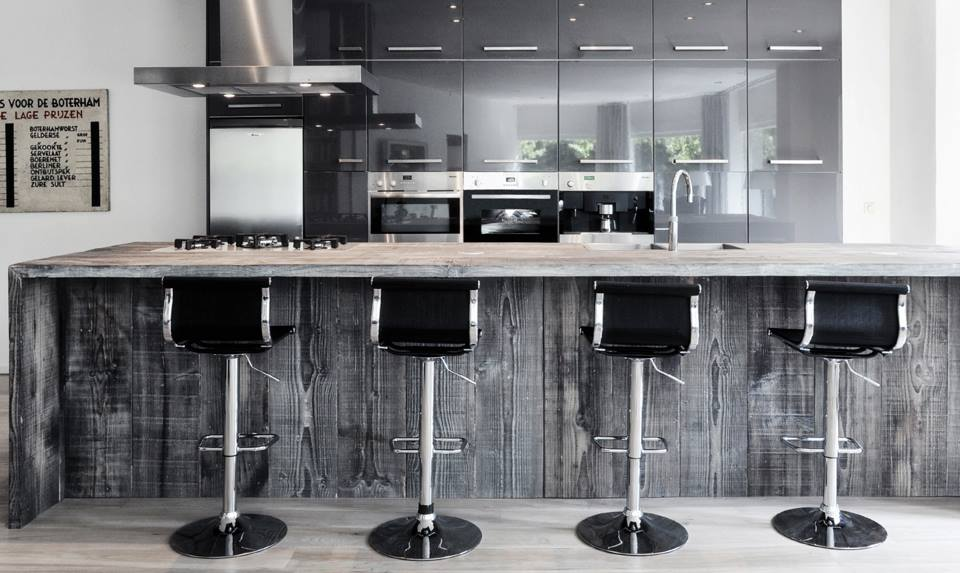 Restylexl barnwood keukens kookeiland   product in beeld ...