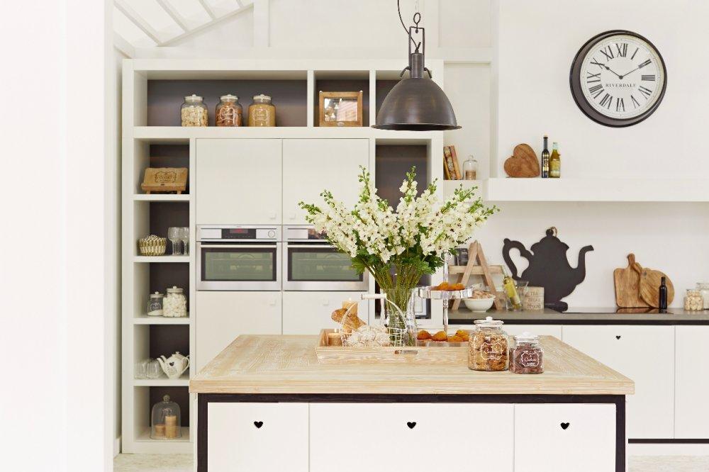 Originele keukens keuken een eigentijds eerbetoon aan de originele piet zwart - Keuken originele keuken ...