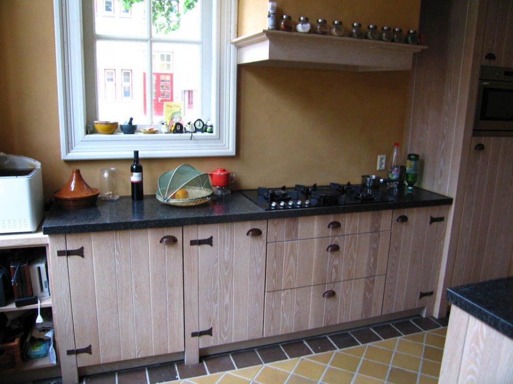 Handgemaakte houten keuken atelier de zonnevlecht   product in ...