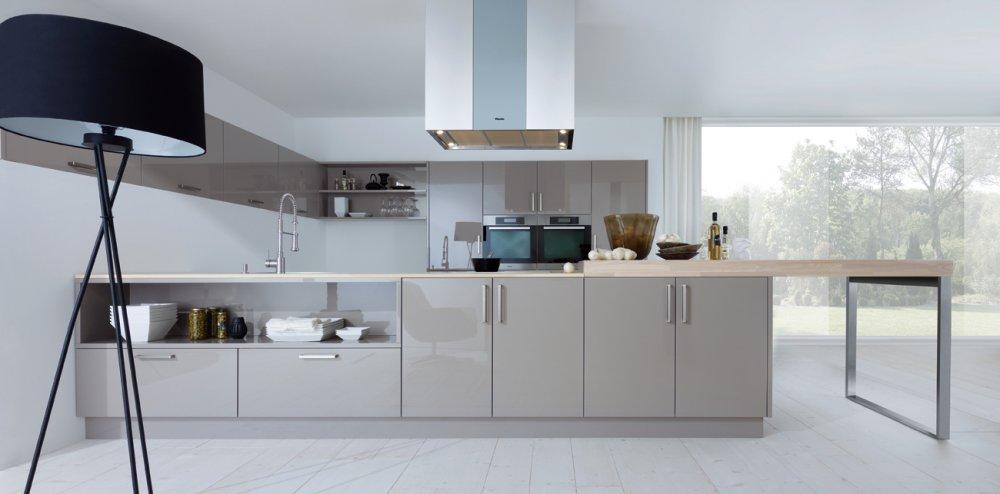 next125 nx501 truffelbruin hoogglans product in beeld startpagina voor keuken idee n uw. Black Bedroom Furniture Sets. Home Design Ideas