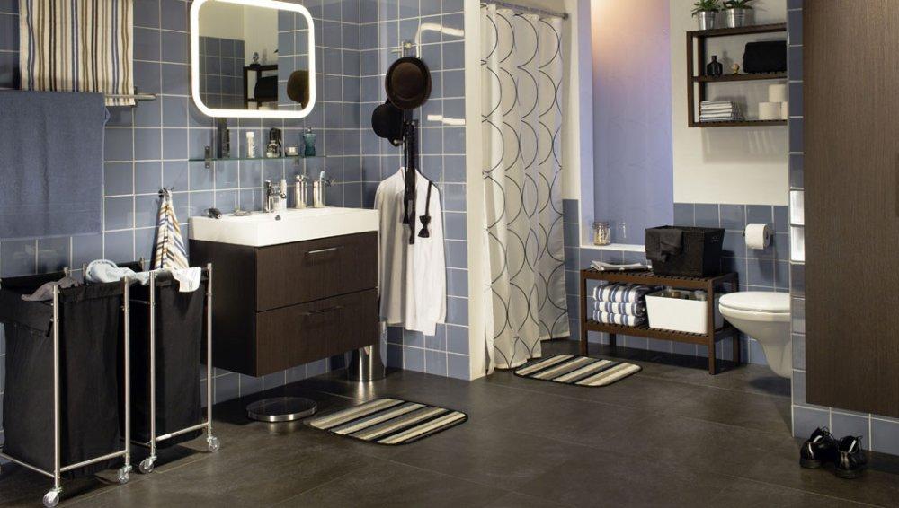 Stuc Plafond Badkamer ~ Brochure over Ikea spiegel met led verlichting STORJORM aanvragen