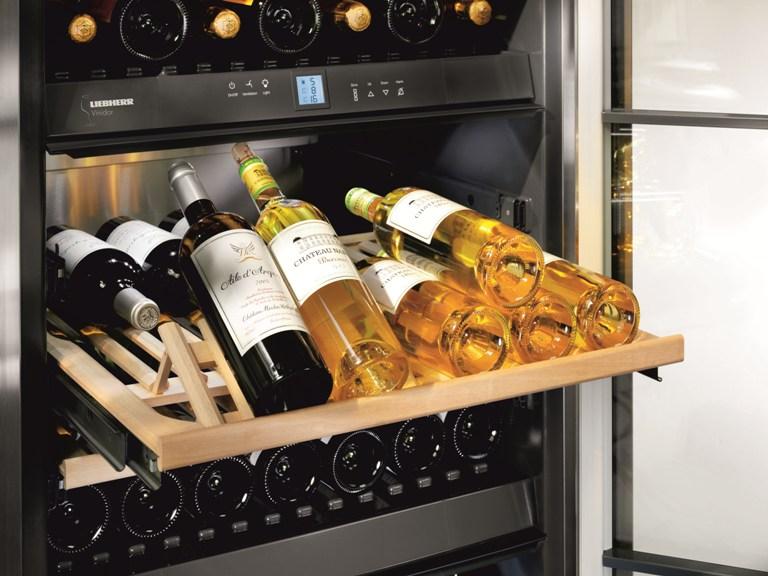 wijnklimaatkast wtes 5872 vinidor liebherr product in. Black Bedroom Furniture Sets. Home Design Ideas
