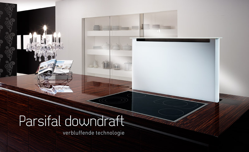 Wave Design Keuken : Wave Parsifal downdraft