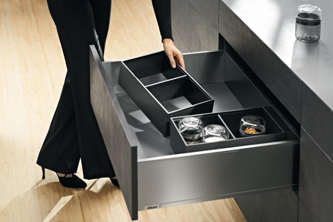 Legrabox magnetische keukenlade indeling Blum Product