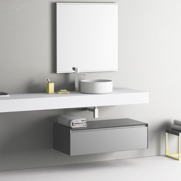 Eenvoudig design badkamermeubel