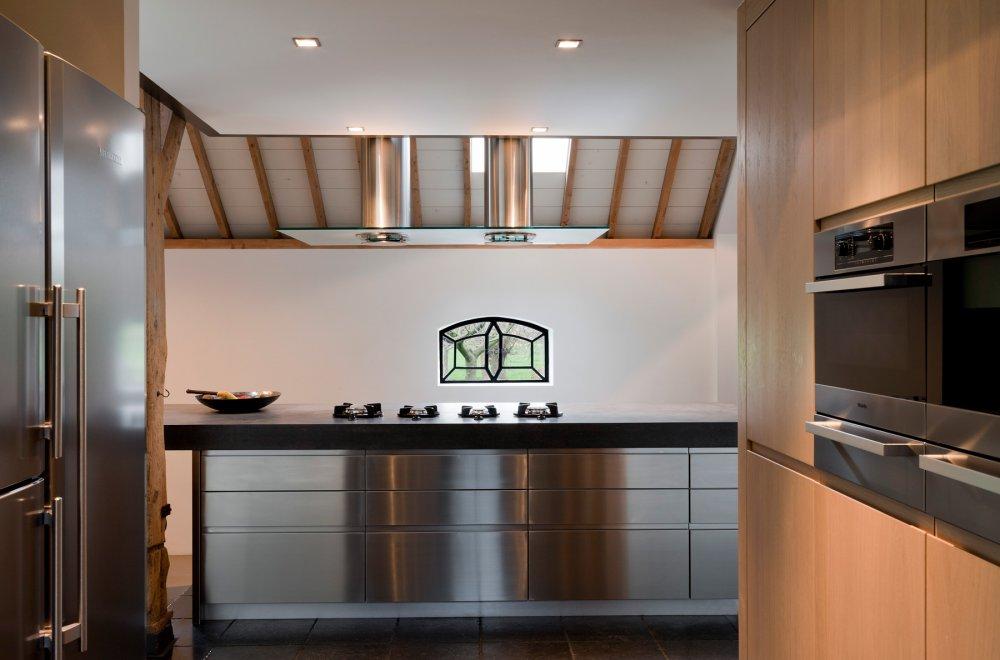 Ornell keukenfronten RVS
