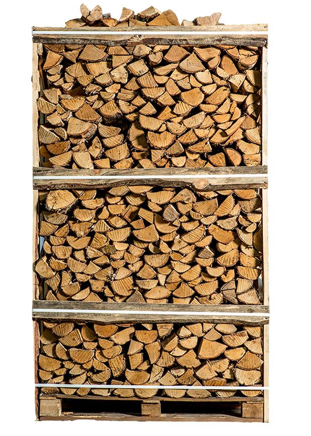 Pallet ovengedroogd berkenhout