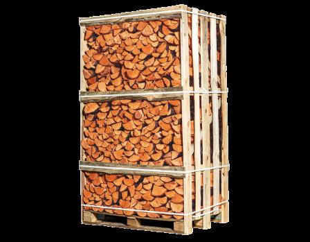 Pallet ovengedroogd elzenhout
