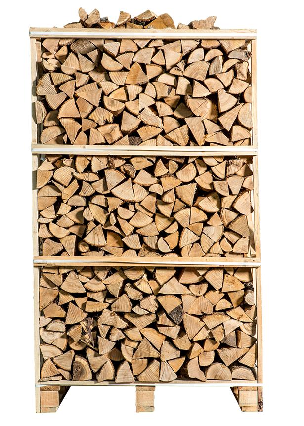 Pallet ovengedroogd essenhout