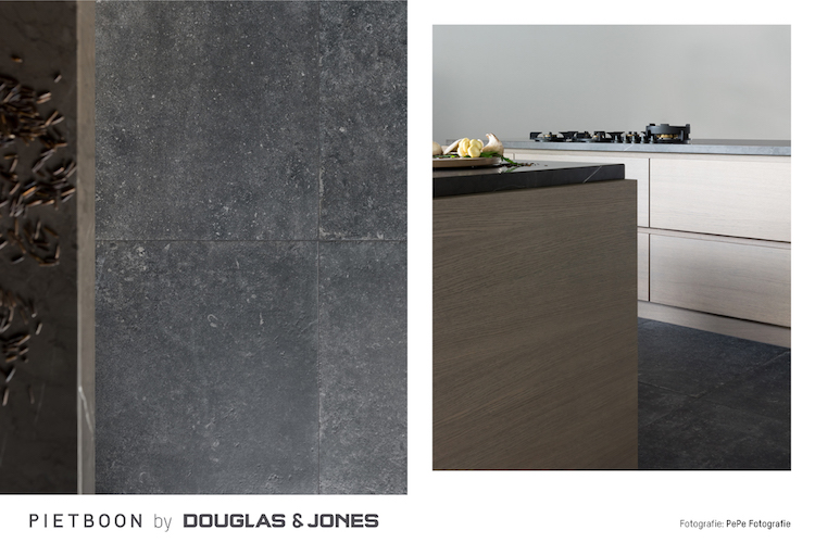 Piet Boon by Douglas & Jones BLACK TILE keukenvloer