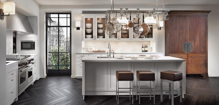 Keuken in Beaux Arts stijl