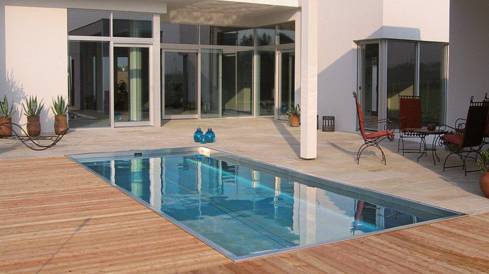 Polytherm Newave zelfreinigend zwembad