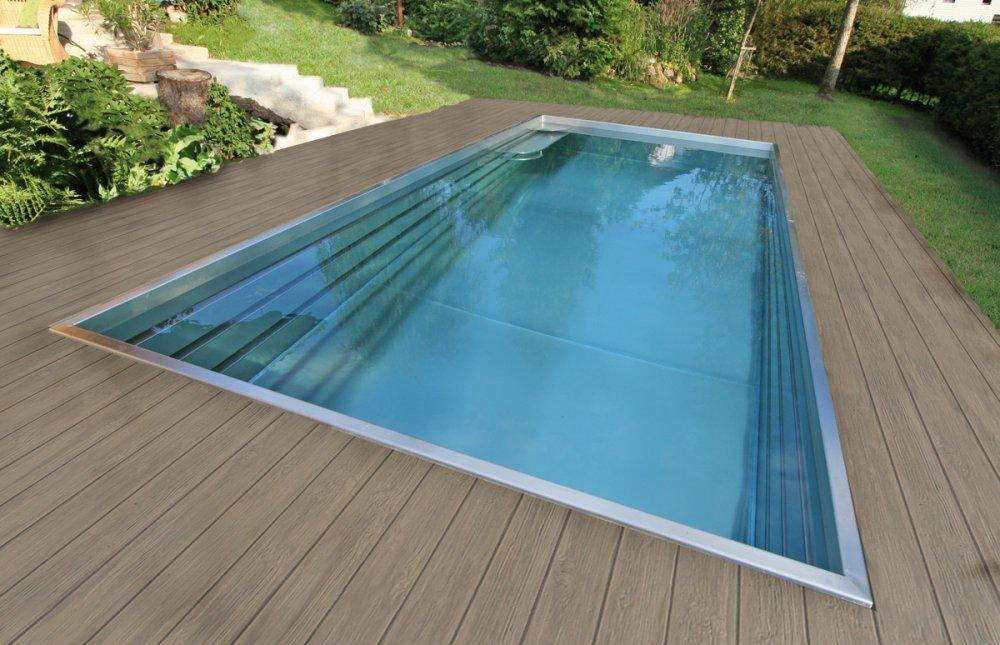 polytherm zwembaden van edelstaal met skimmertechniek. Black Bedroom Furniture Sets. Home Design Ideas
