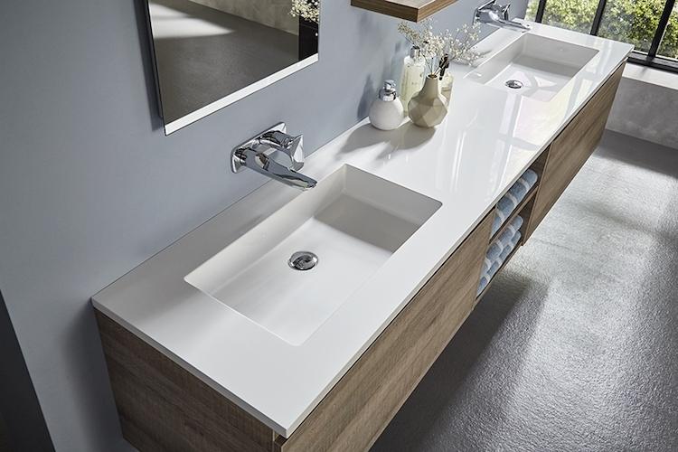 Badkamermeubel Op Maat : Op maat gemaakt tijdloos badkamermeubel product in beeld