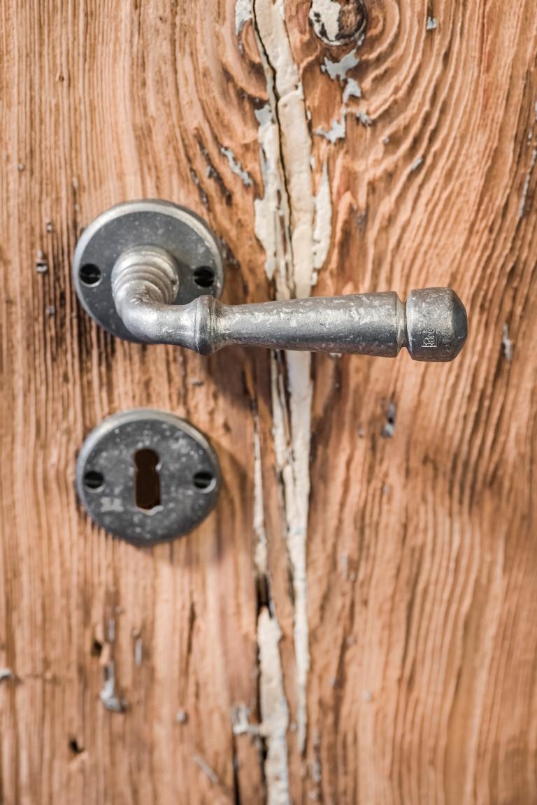 Pure® deurbeslag in Ruw Metaal (RM)