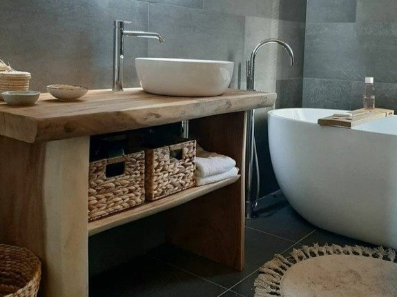 Sidetable badkamermeubel | Puurteak