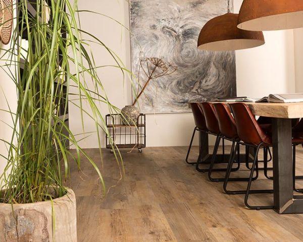 Pvc vloer product in beeld startpagina voor interieur en wonen
