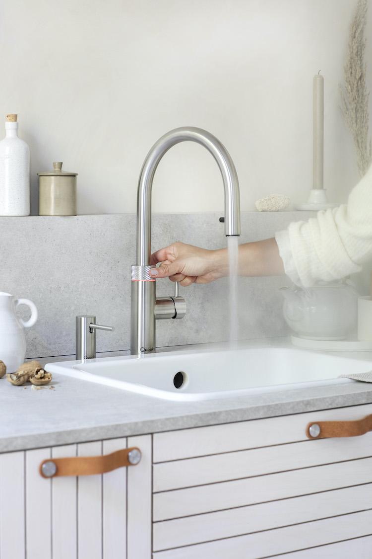 Kokendwaterkraan bespaart water | Quooker