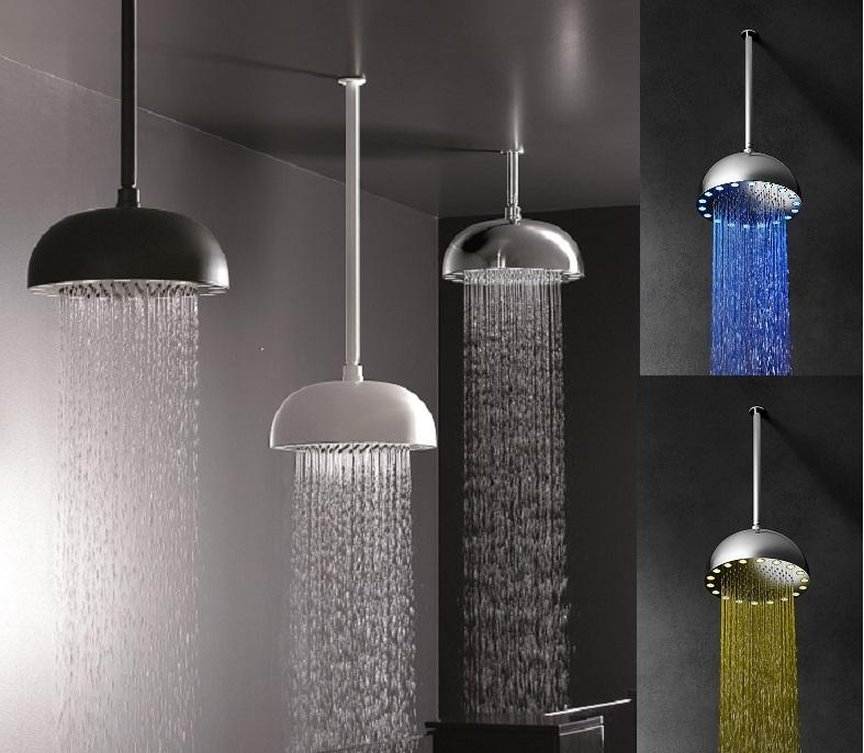 Regendouche met verlichting