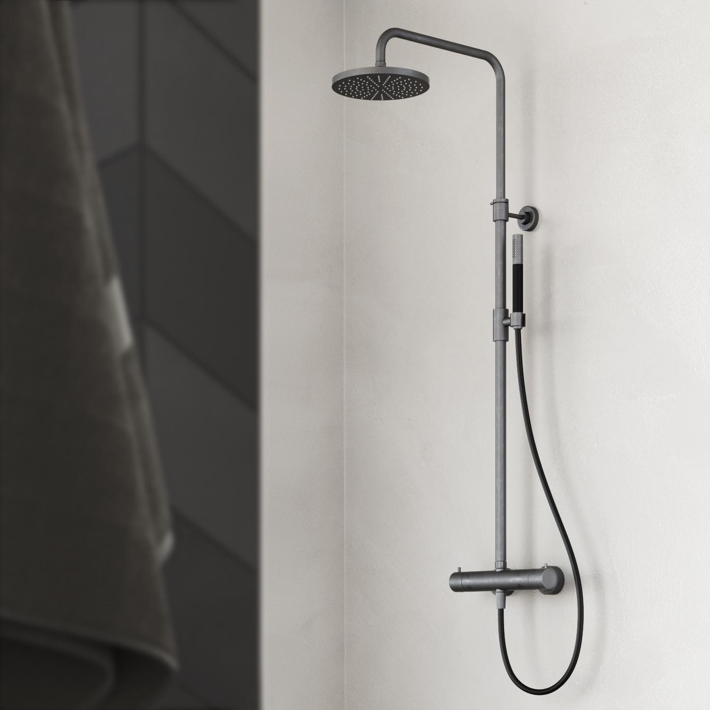 Regendouche van Hotbath, eenvoudige bevestiging op je muur