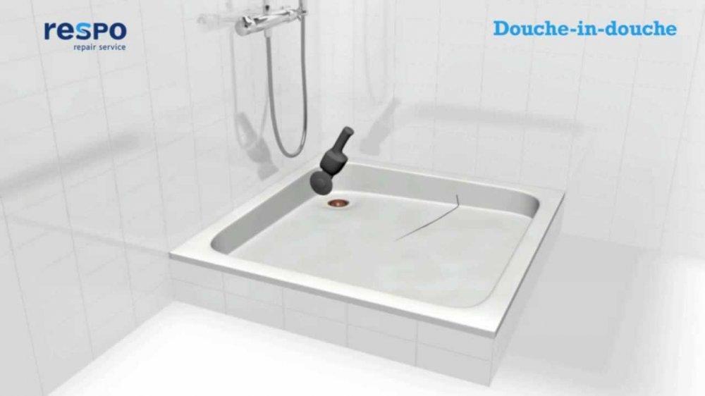 Respo Repair Renovaties Douche-in-douche systeem