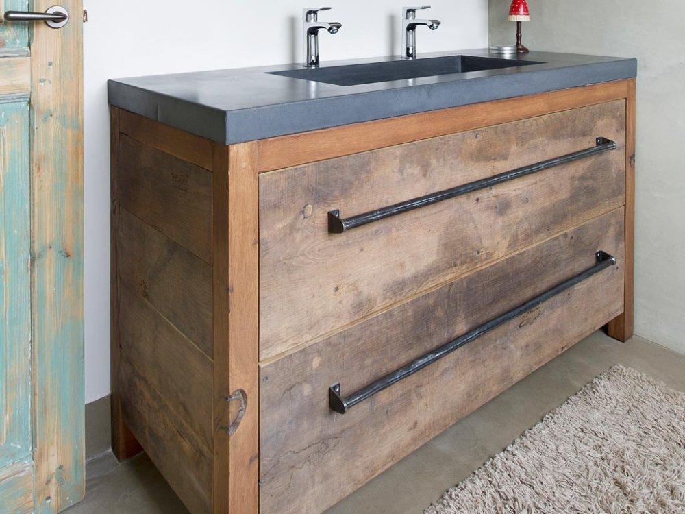 Eiken Werkblad Badkamer : Badkamer keuken witte werkblad eik gehoor geven aan huis eiken