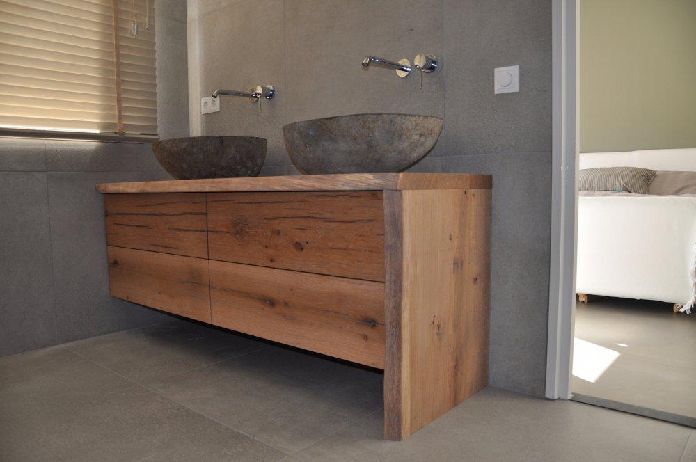 Restylexl combinatie eiken badkamermeubel product in beeld startpagina voor badkamer idee n - Badkamer badkamer meubels ...
