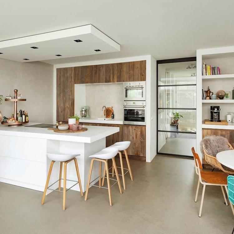 Moderne barnwood keuken | RestyleXL