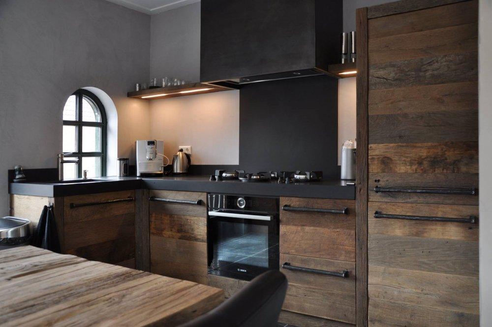 Keuken Eikenhout : keuken oud eikenhout – Product in beeld – Startpagina voor keuken
