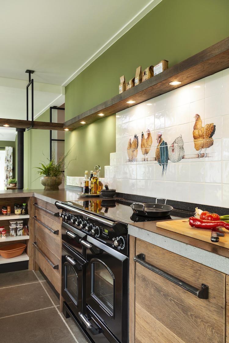 Klassiek landelijke keuken oud hout | RestyleXL