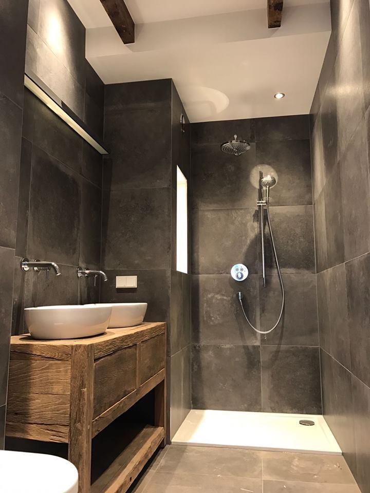 Oud hout in de badkamer | RestyleXL