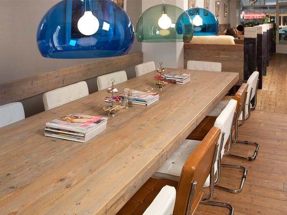 RestyleXL Tafels van stijgerhout